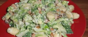 Gnocchi in Brokkoli-Räuchertofu-Sahnesoße