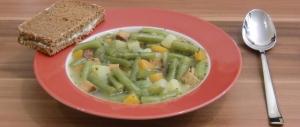 Bohnensuppe mit Räuchertofu