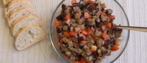 Orientalischer Auberginensalat