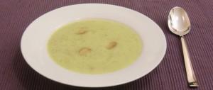 Zucchini-Kartoffel-Cremesuppe