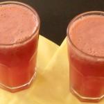 Erfrischender Wassermelonen-Drink