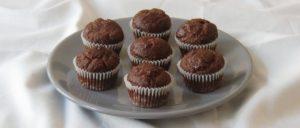 Gesunde Mini-Schoko-Bananen-Muffins