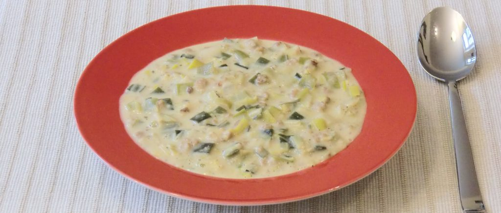 käse lach suppe